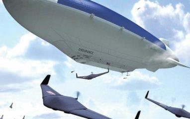 Drón Hordozó LongLived szolár léghajó