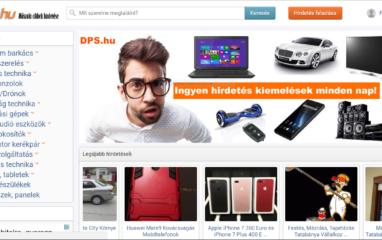 DPS.hu Műszaki cikk apróhirdetési oldal